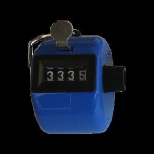 Klikacz ręczny, profesjonalny, stalowy, niebieski MMC3 BE