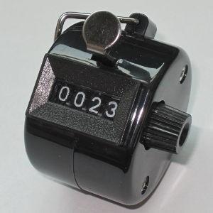 Klikacz ręczny, ekonomiczny, z tworzywa czarny MMCP