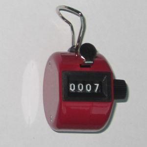 Klikacz ręczny, profesjonalny, stalowy, czerwony MMC3 RD