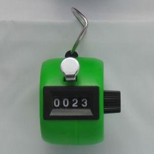 Klikacz ręczny, profesjonalny, z tworzywa ABS, zielony MMC4ABS GN