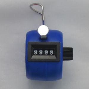 Klikacz ręczny, profesjonalny, z tworzywa ABS, niebieski MMC4ABS BE